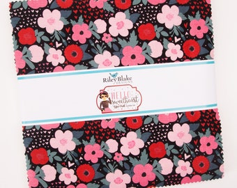 "Hello Sweetheart 10"" Stacker, by Echo Park Paper Co. for Riley Blake Designs"