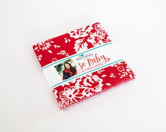 "So Ruby 5"" stacker, By Carina Gardner for Riley Blake Designs"