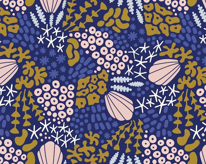 Underwater Reef - by Elizabeth Olwen for Cloud9 Fabrics