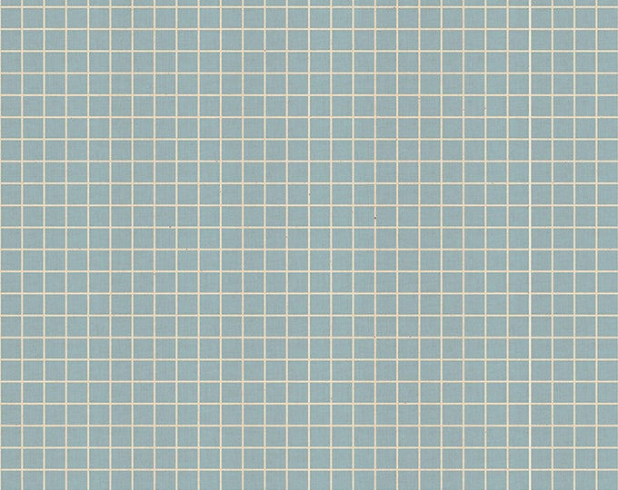 Grid Soft Blue  by Kimberly Kight for Ruby Star Society for MODA