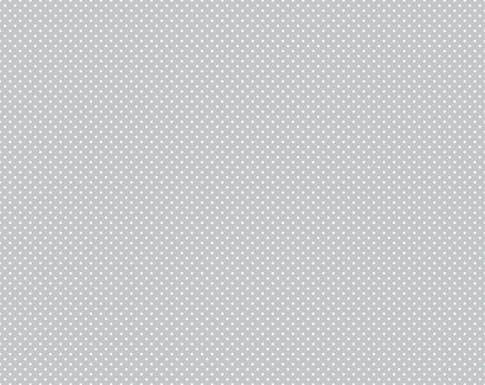 Gray Swiss Dot - Anne of Green Gables Christmas for Riley Blake