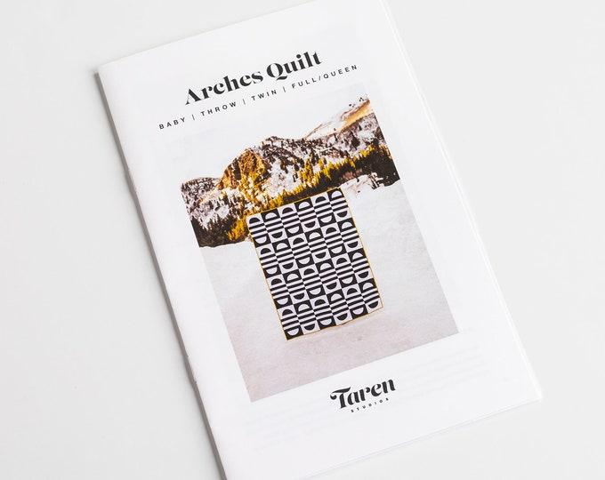 Arches Quilt Pattern - paper pattern - by Taren Studios