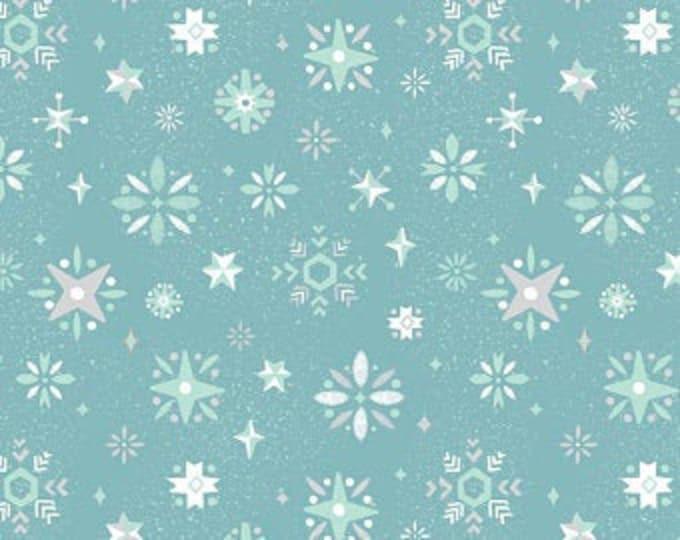 Way Up North Snowflake-BLUE for Riley Blake Designs