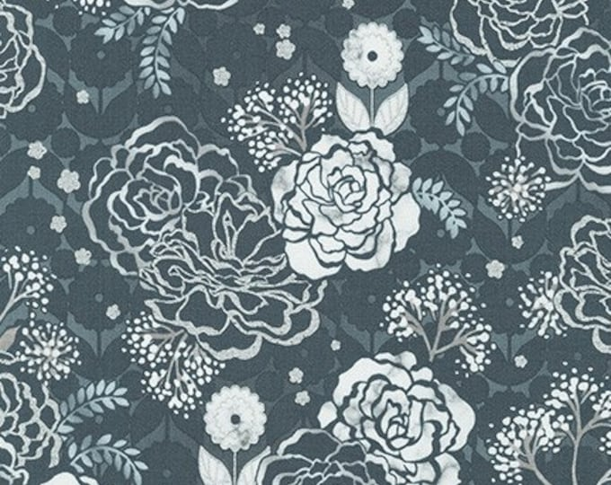 STEEL by Vanessa Lillrose & Linda Fitch from Silverstone for Robert Kaufman Fabrics