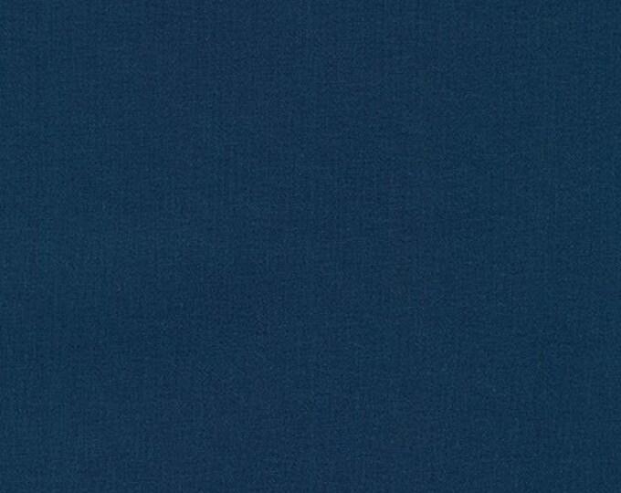NAVY Kona Cotton for Robert Kaufman Fabrics
