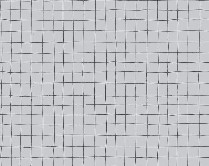 Scaredy Cat Grid Gray by Amanda Niederhauser for Riley Blake Designs