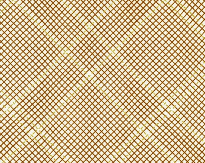 ROASTED PECAN metallic Collection CF by Carolyn Friedlander for Robert Kaufman Fabrics