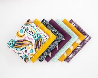 Lugu Owl Curated FQ Bundle - 7 patterns