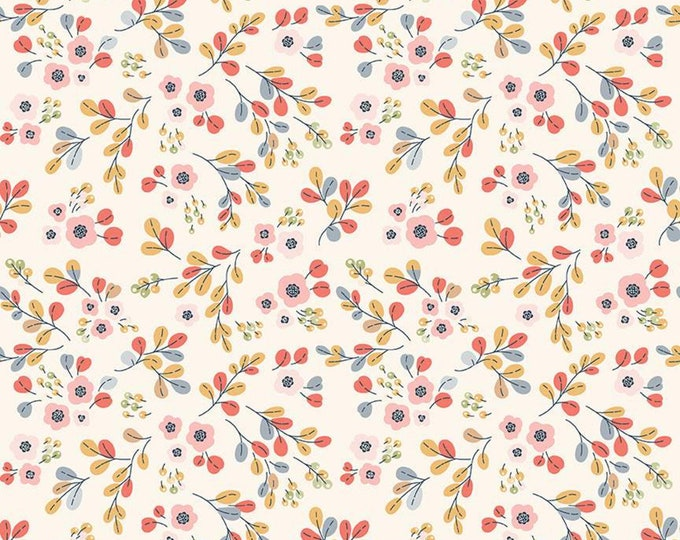 Charmed Floral Cream by Cyndi Walker for Riley Blake Designs