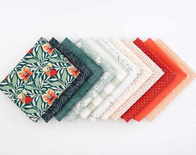 Harriet's Pansy - Curated Fat Quarter Bundle