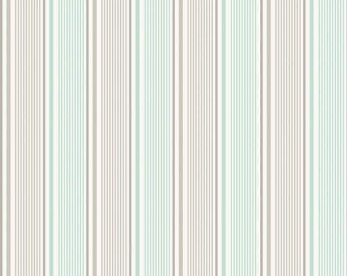 Willow Stripes in Green by My Minds Eye for Riley Blake