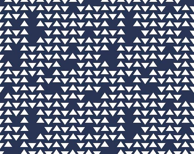 By Popular Demand Navy Triangle - For Riley Blake