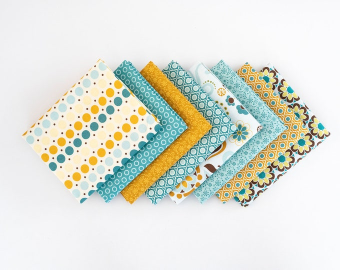 So Sophie FQ Bundle - 8 patterns, Riley Blake fabrics