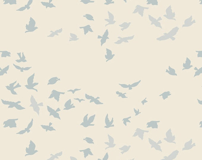 Aves Chatter Serenity by Bonnie Christine by Art Gallery Fabrics