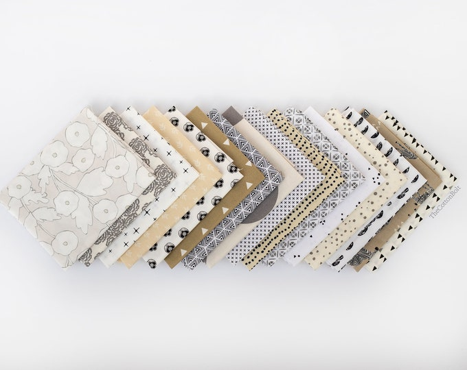 Dancing In The Sand 3 - 16 piece Curated Fat Quarter Bundle
