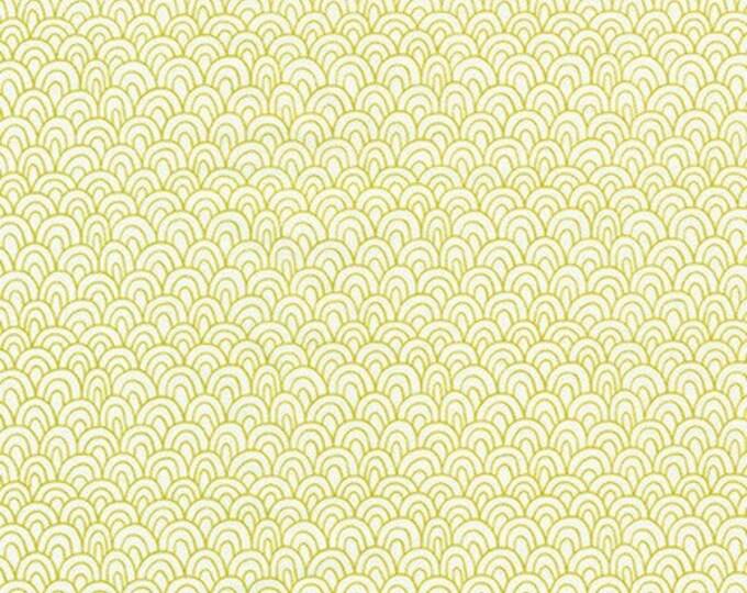WASABI from Library by Elizabeth Hartman for Robert Kaufman Fabrics
