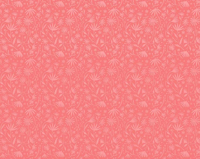 Eloise's Garden Packed Flowers Pink by Abigail Halpin for Figo