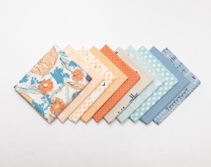 Water Lily Curated Fat Quarter Bundle
