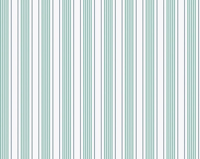 By The Sea Mint Stripe for Riley Blake