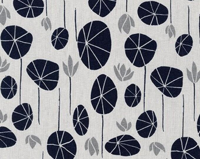 SILVER Linen/Cotton by Anna Graham from Driftless for Robert Kaufman Fabrics