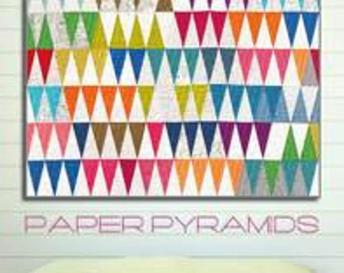 Paper Pyramid Quilt Pattern by Zen Chic