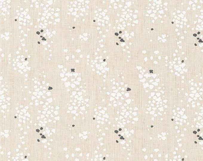 NATURAL Linen/Cotton spots  by Anna Graham from Driftless for Robert Kaufman Fabrics