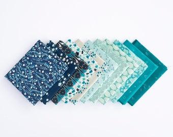 Fields of Blue - 11 piece Curated Fat Quarter Bundle