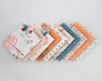 Little Clementine Curated FQ Bundle - 10 patterns, Art Gallery Fabrics