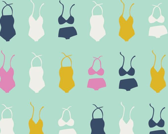 Swimsuit Soiree Seafoam by Dana Willard from Summer Side for Art Gallery Fabrics