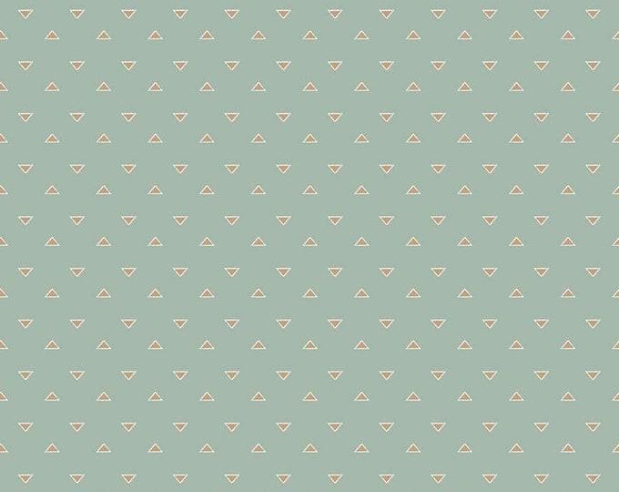 Beneath the Western Sky Triangles Seafoam by Gracey Larson for Riley Blake Designs