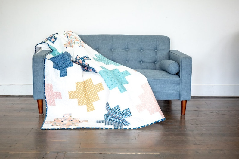 Azure Skies Quilt Pattern by Simple Simon /& Company