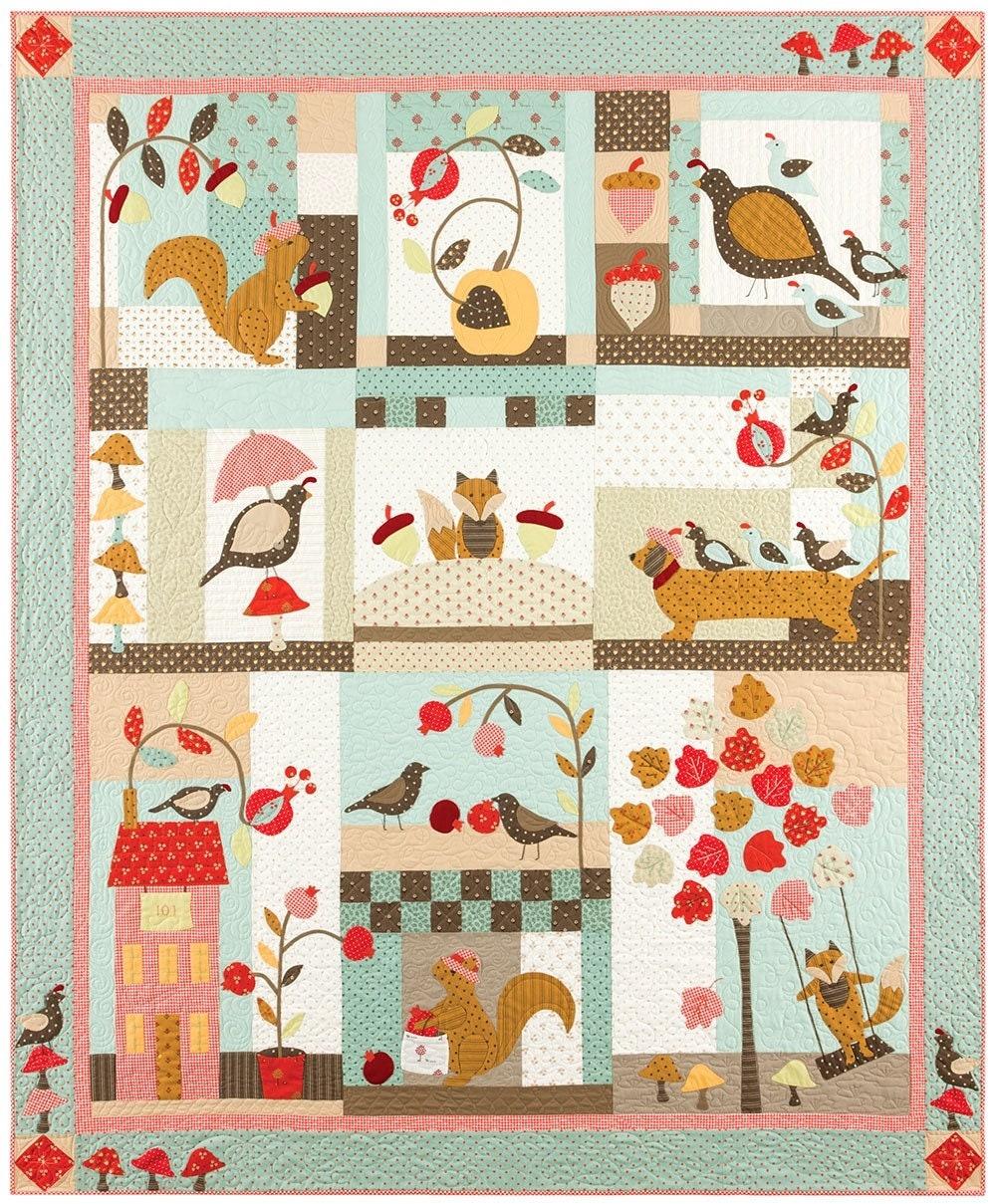 Rue maple 101 Quilt Kit Kit Kit - Bunny Hill Designs & tissus Moda 6ca821
