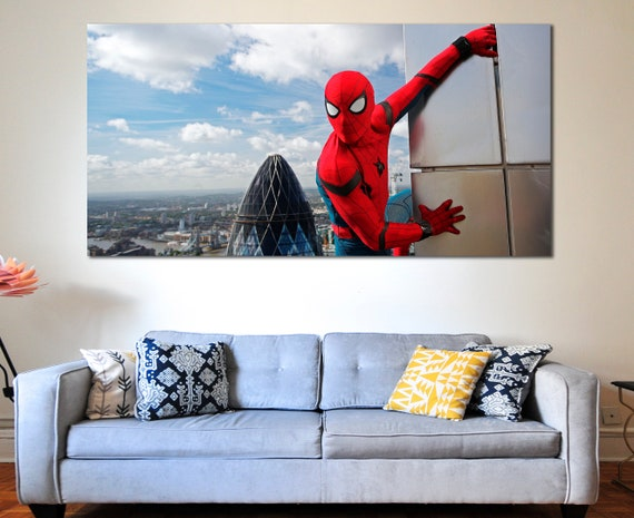Spiderman photo Spiderman poster Spiderman wall decor | Etsy