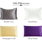 Life Time Guarantee 100% Mulberry Silk Pillowcase 19 momme - Standard/Queen/King