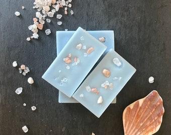 Sea & Pink Salt Soy Wax Melt Bars (x4)
