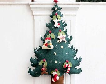 sale felt christmas tree tree for kids christmas decoration 3 feet tall tree - Decorated Christmas Trees For Sale