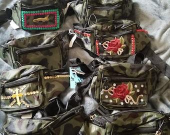 Camo fanny pack