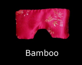 Red Bamboo Eye Pillow, small