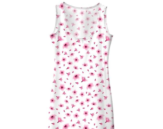 Cherry Blossom Body Con Dress