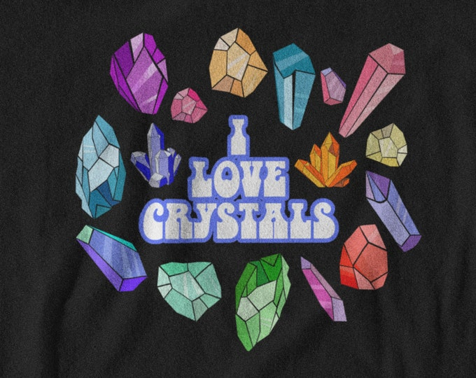 I love Crystals Tee