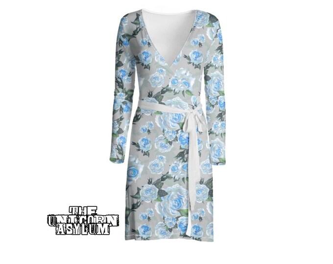 The Slate Rose- Wrap Dress