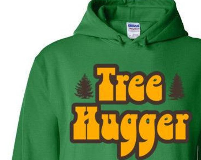 Vintage Style -Tree Hugger Hoodie
