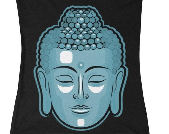 Buddha Head Deep VNeck Tee