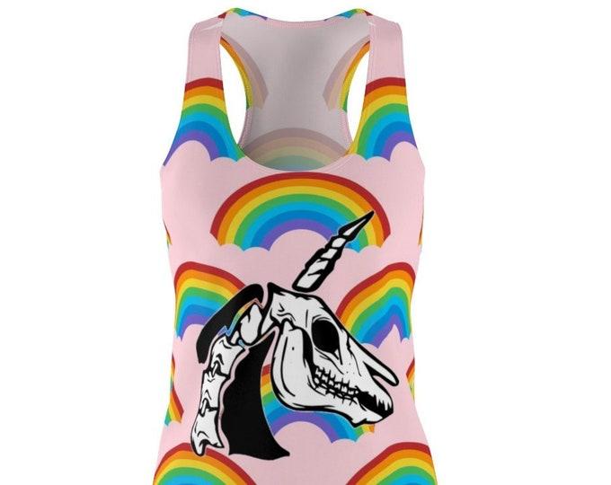Death & Rainbows Racerback Dress