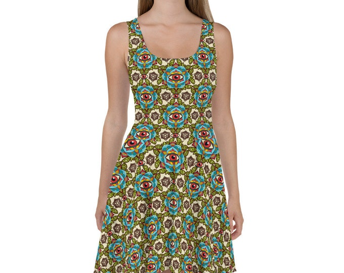 Third Eye Skater Dress