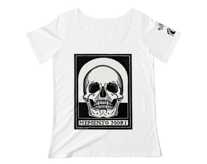 Memento Mori Scoop Neck T-shirt