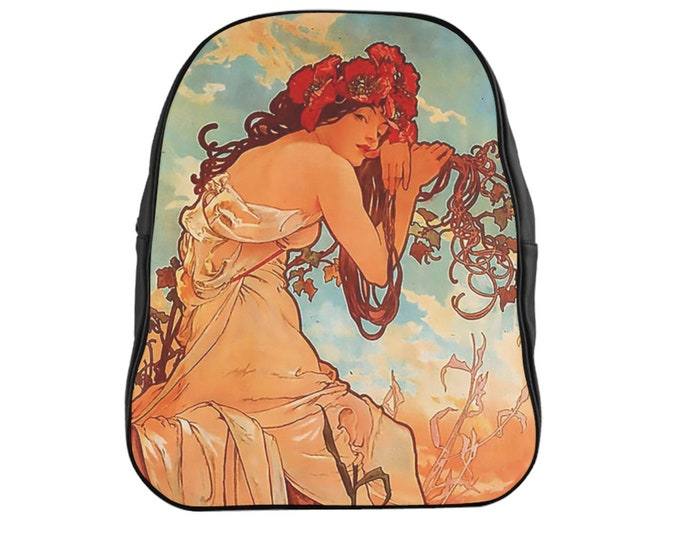 Alphonse Mucha Backpack