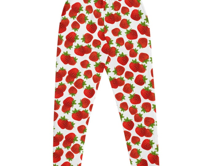 Strawberry Kiss Joggers