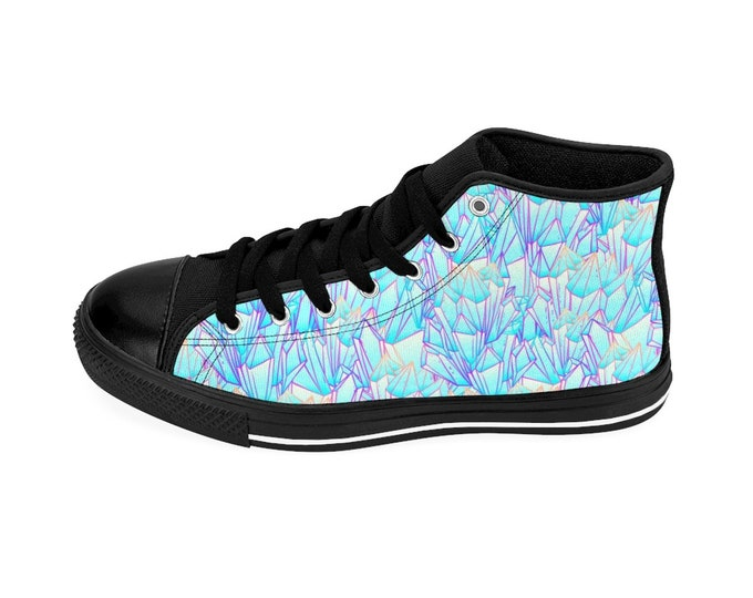 Crystal Point High-top Sneakers