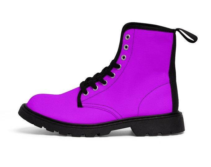 Magenta Boots